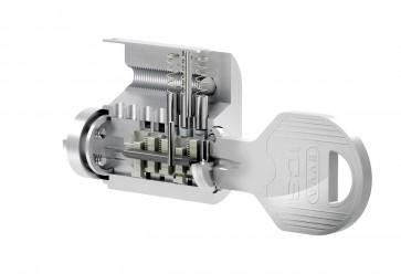 Evva ICS doppio cilindro chiave con assicurazione CARE +