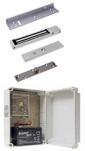 13700KIT TFB Kit Elettromagnete Mini con Alimentatore e Batterie Tampone