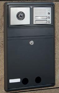 cassetta postale ad incasso per video citofono 2012 Caspim