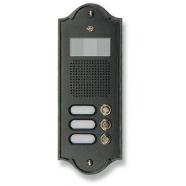 3PLM Video Pulsantiera Videocitofonica in Ottone Morelli