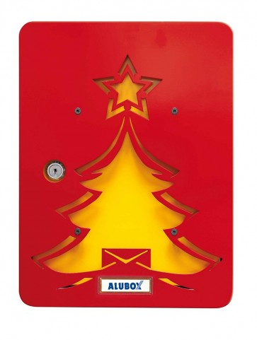 Albero Rosso Box+Cover Alubox Mia