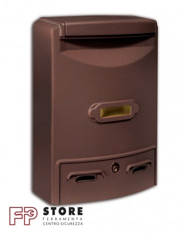 Europa Maxi Cassetta Postale Alubox-Ruggine