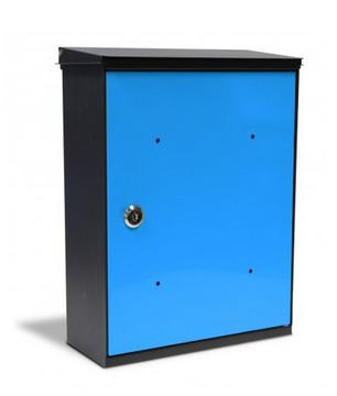 Box Blu Cassetta Postale Alubox MIA
