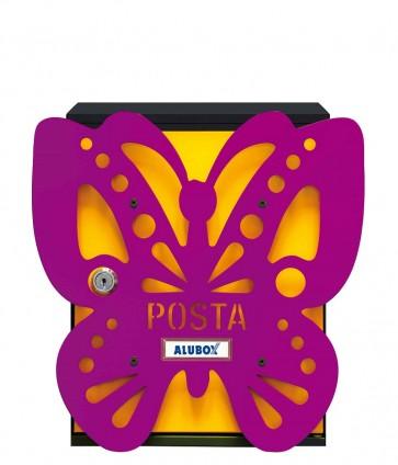 Farfalla Cover Per Cassetta Alubox Mia