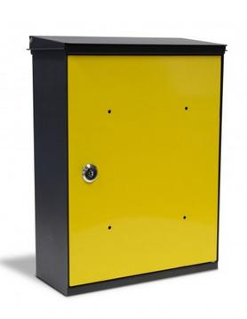 Box Giallo Cassetta Postale Alubox MIA