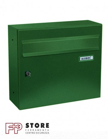 Giove Cassetta Postale Alubox-Verde