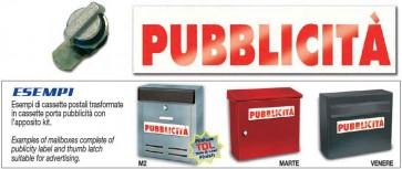 Kit Pubblicità Alubox