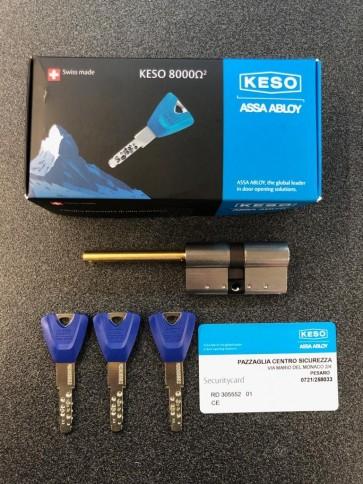 "Keso 8000 Omega ""E"" Professional Cilindro Chiave - Codolo"