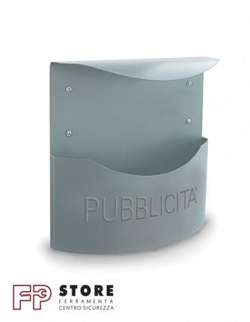 Marsupio Pubblicità Alubox-Argento