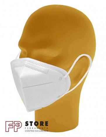 Mascherina FFP2 3D pieghevole