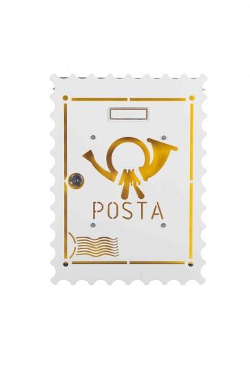 Francobollo Cover Per Cassetta Alubox Mia
