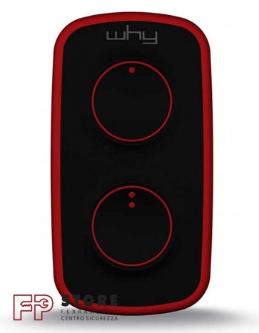 Telecomando cancello 2 tasti Why Lite Mini Rosso