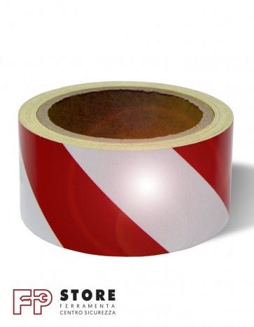 Adesivo segnaletico rinfrangente 50 mm
