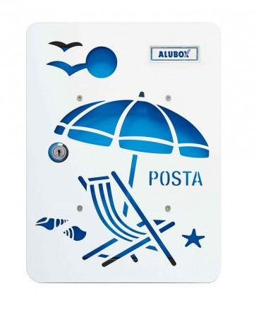 Ombrellone Cover Per Cassetta Alubox Mia