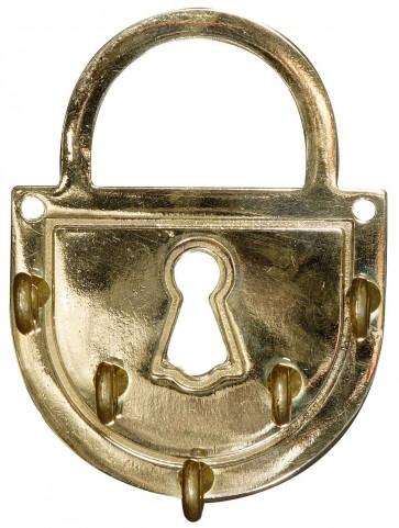 Porta Chiavi In Ottone Alubox