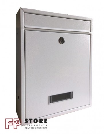 Quadra Cassetta Postale Alubox-Bianco