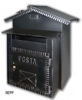 Rustica Portapane Cassetta Postale Alubox