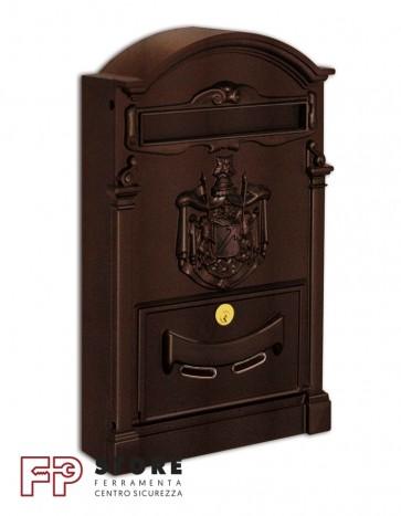 Residence Cassetta Postale Alubox-Marrone
