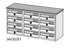 J4X3 Jumbo Lux1 Casellari Postali Alubox