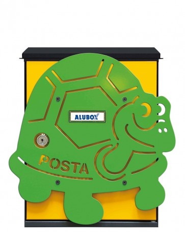 Tartaruga Cover Per Cassetta Alubox Mia
