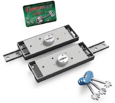 2230xzb4508a33 serratura securemme chiave doppia mappa - Serratura porta basculante garage ...