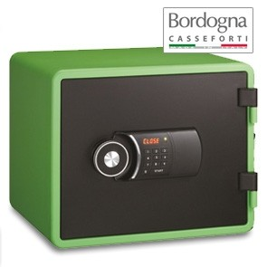 Joy 020 Cassaforte a mobile elettronica Green
