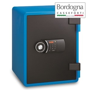Joy 031 Cassaforte a mobile elettronica Blue
