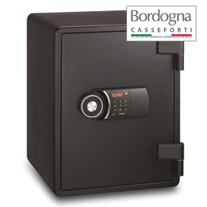 Joy 031 Cassaforte a mobile elettronica Black