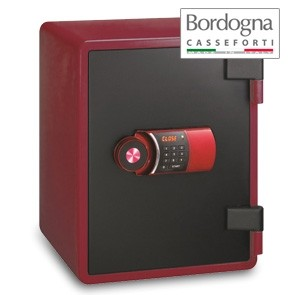 Joy 031 Cassaforte a mobile elettronica Red