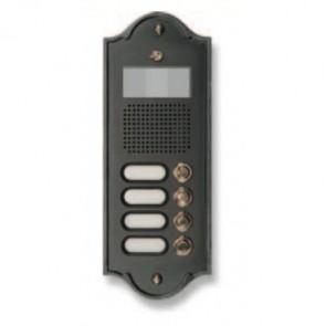 4PLM Video Pulsantiera Videocitofonica in Ottone Morelli