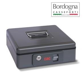 Cassetta Portadenaro con pulsante Bordogna