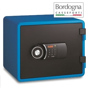 Joy 020 Cassaforte a mobile elettronica Blue