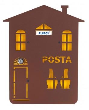 Casa Cover Per Postale Alubox Mia