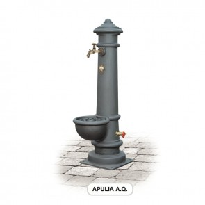 Apulia Alta Qualità Fontana in Ghisa Morelli