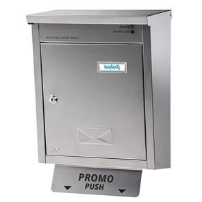 Cassetta postale led inox