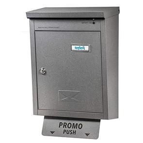 Cassetta postale led grigio