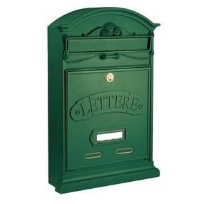 Lettere Cassetta Postale Alubox-Verde