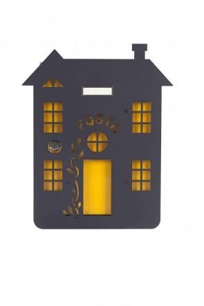 Casa con Rampicante Cover Per Cassetta Alubox Mia