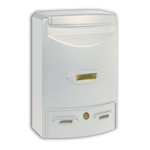 Europa Maxi Cassetta Postale Alubox-Bianco