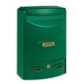 Europa Maxi Cassetta Postale Alubox-Verde