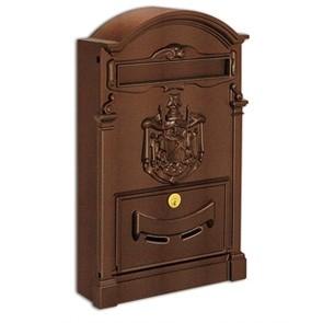 Residence Cassetta Postale Alubox-Ruggine