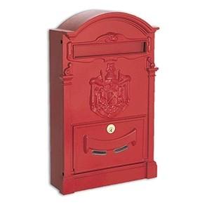 Residence Cassetta Postale Alubox-Rosso