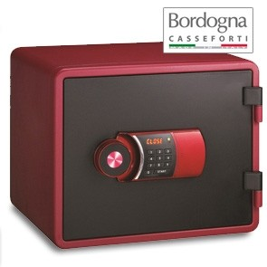 Joy 020 Cassaforte a mobile elettronica Red