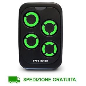 Telecomando cancello 4 canali Prime Top Nero Verde