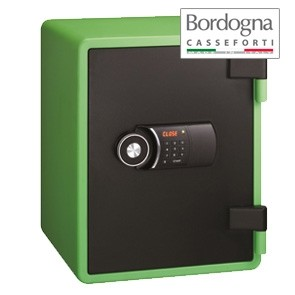 Joy 031 Cassaforte a mobile elettronica Green